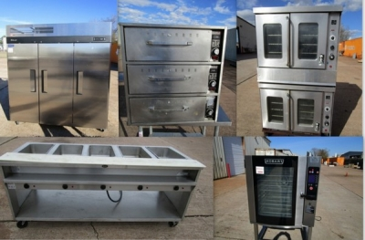 Auction: New and Used Restaurant Equipment