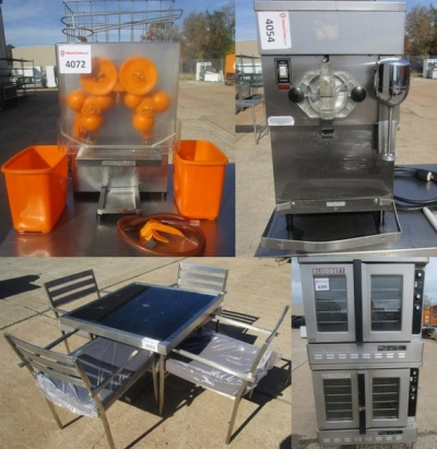 Auction: New & Used Restaurant Equipment Year End Sale