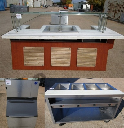 Holiday Auction: New & Used Restaurant Equipment Including From Recently Closed Pizza Restaurant!!!